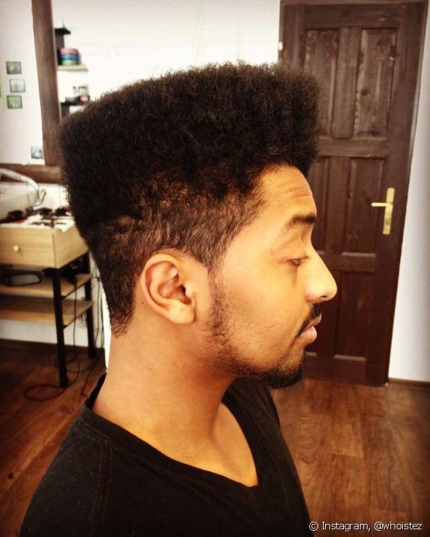 Os homens com cabelo crespos estão mais vaidosos do que nunca!