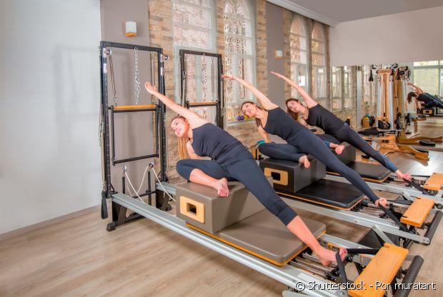 O pilates é um exercício de flexibilidade, equilibrio e força e também uma atividade mental