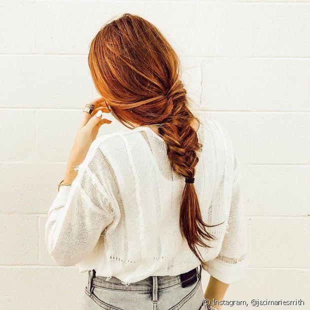 Se você adora tranças sabe que pode inventar praticamente tudo com esse penteado