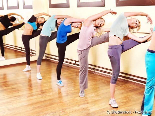 Qualquer pessoa a partir de 15 anos pode praticar o Ballet Fitness