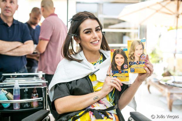 Mariana Saad ficou loira e amou o resultadou: 'Estou me sentindo poderosíssima'