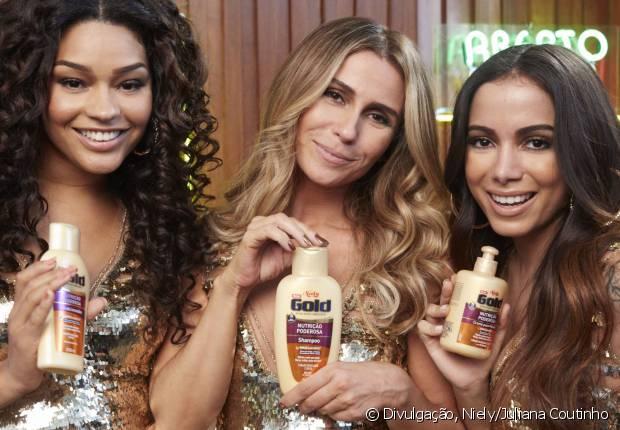 Nutrição Poderosa é a nova linha da Niely Gold representada por Giovanna Antonelli e Anitta