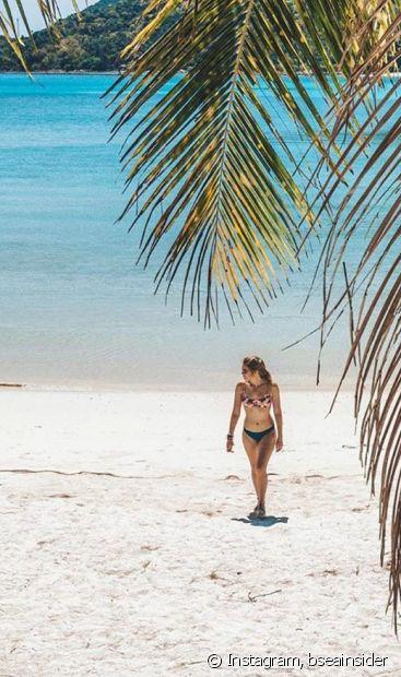 Sombra e água é tudo que a gente quer nesse verão, não é mesmo, diva? (Foto Instagram: bseainsider)
