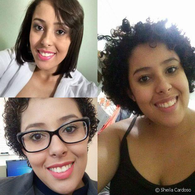 'Quando eu pequena as pessoas diziam que meu cabelo era feio e hoje eu percebi que feio é o preconceito e que meu cabelo é lindo do jeito que ele é!', afirmou Sheila Cardoso