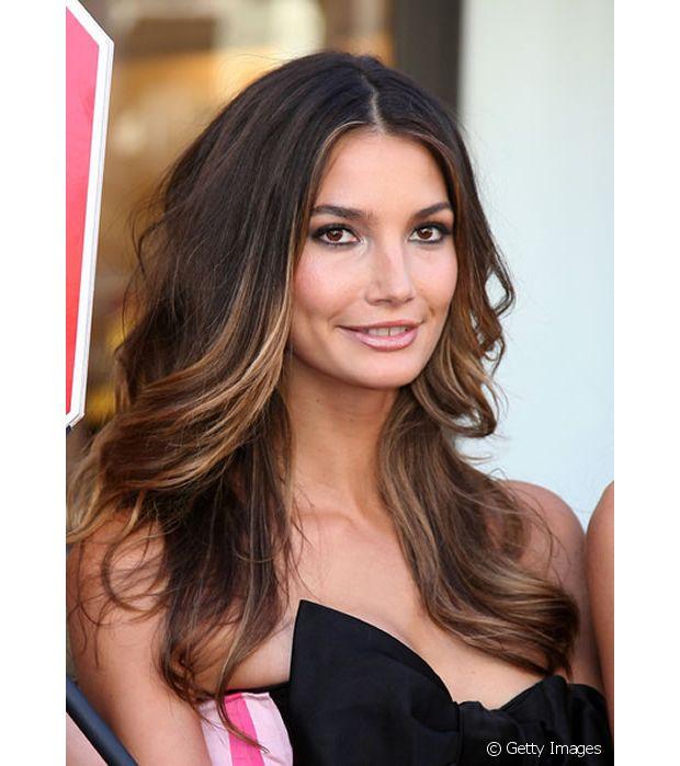 Você pode fazer camadas no cabelão com ombré hair sem diminuir o comprimento