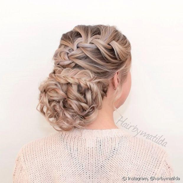 Essa opção é perfeita para madrinhas - @hairbymatilda