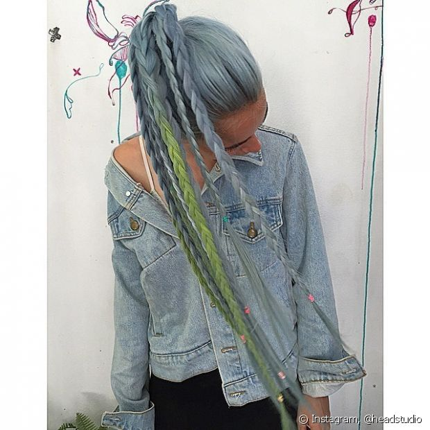 As donas de cabelão vão arrasar com esse rabo de cavalo - @headstudio