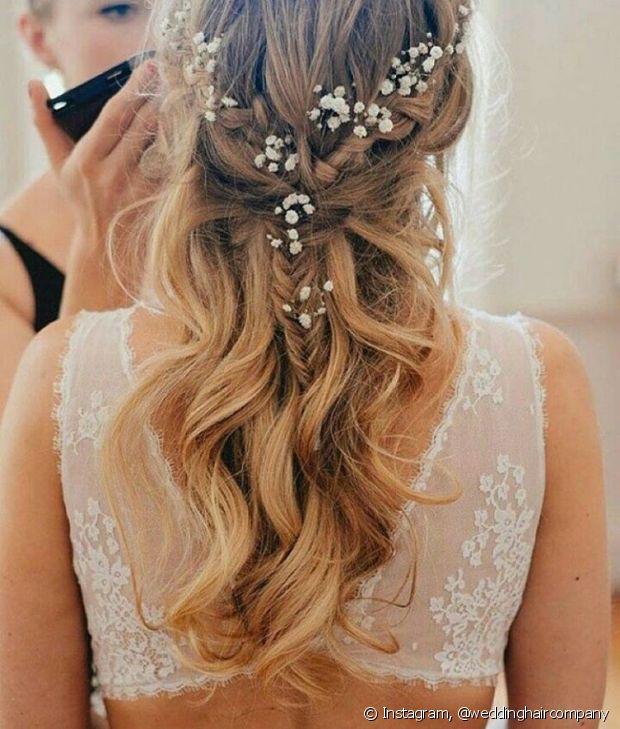 As tranças também servem para casamentos ao ar livre - @weddinghaircompany