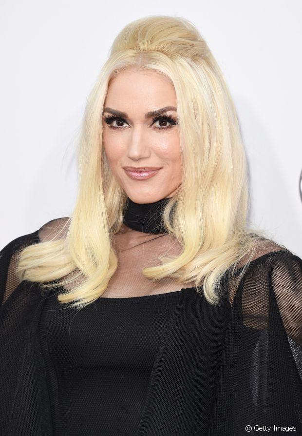 O topete é o penteado preferido da cantora de Gwen Stefani
