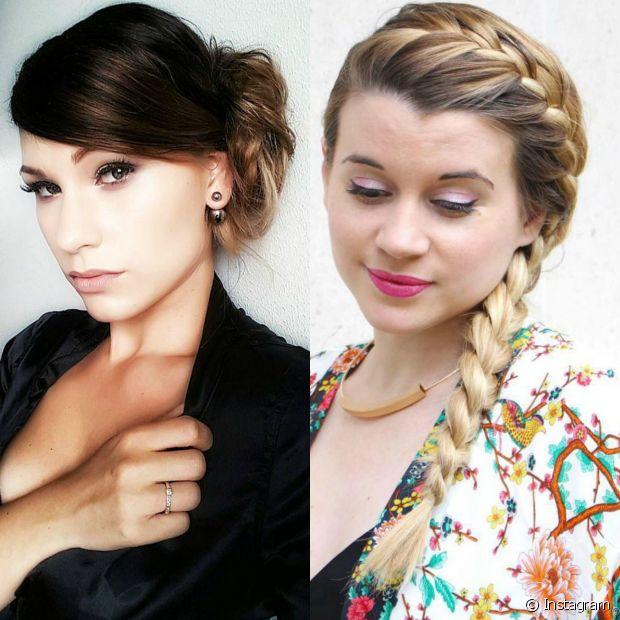 Qual é o seu preferido entre os penteados das queridinhas de Hollywood? A trança ou o coque?