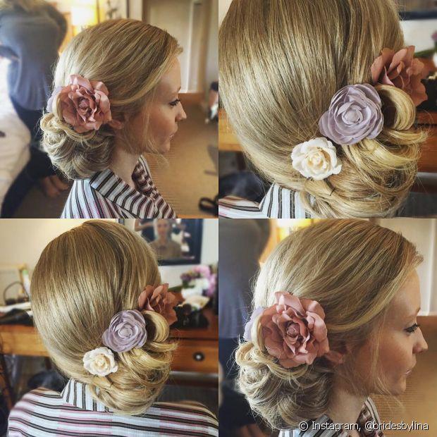 As madrinhas de casamentos durante o dia podem apostar nas flores para arrematar o look