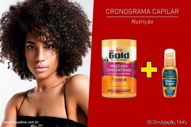 Cronograma capilar nutrição: é para repor os lipídios do cabelo, ideal para os fios cacheados, crespos ou ressecados por procedimentos químicos