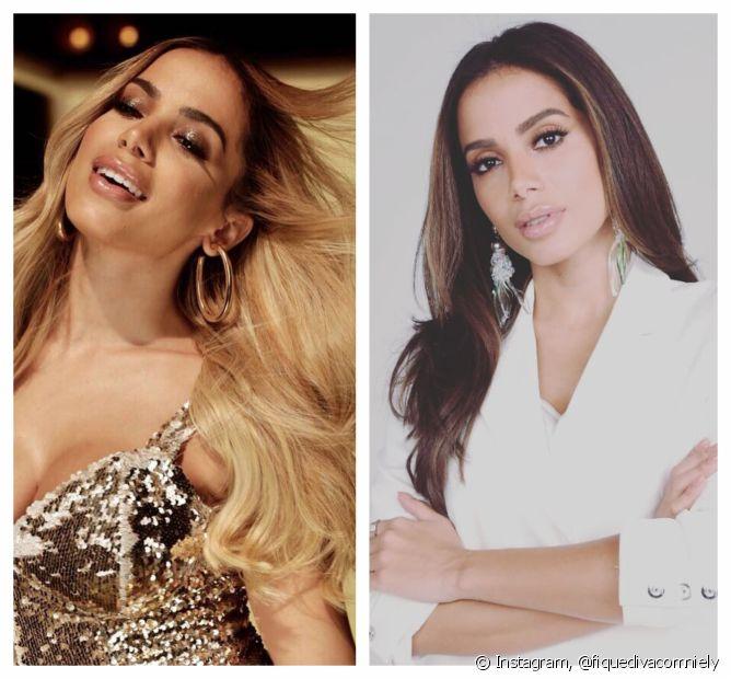 Em 2018, Anitta ficou loira e, em seguida, morena com Cor&Ton