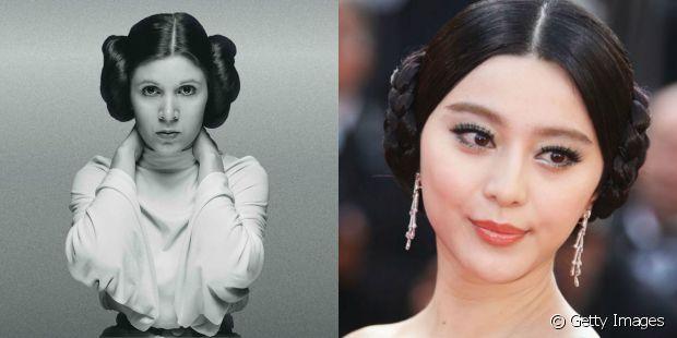 """As fãs de """"Star Wars"""" podem demonstrar o amor pelo clássico com uma fantasia de Princesa Leia. Basta criar dois coques laterais em altura mediana"""