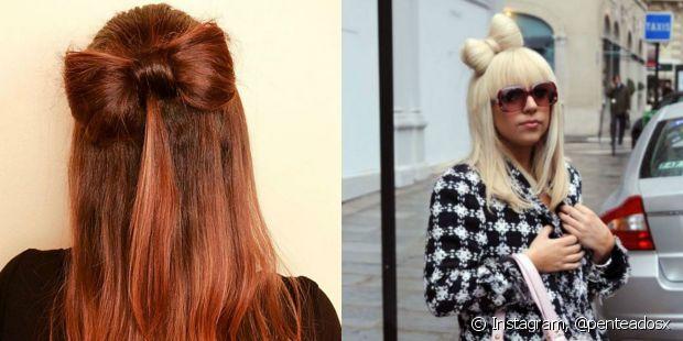 Quem se lembra do penteado em formato de laço usado por Lady Gaga?