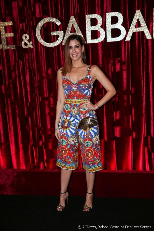 Camila Coutinho marca presença na festa DG Loves Brazil