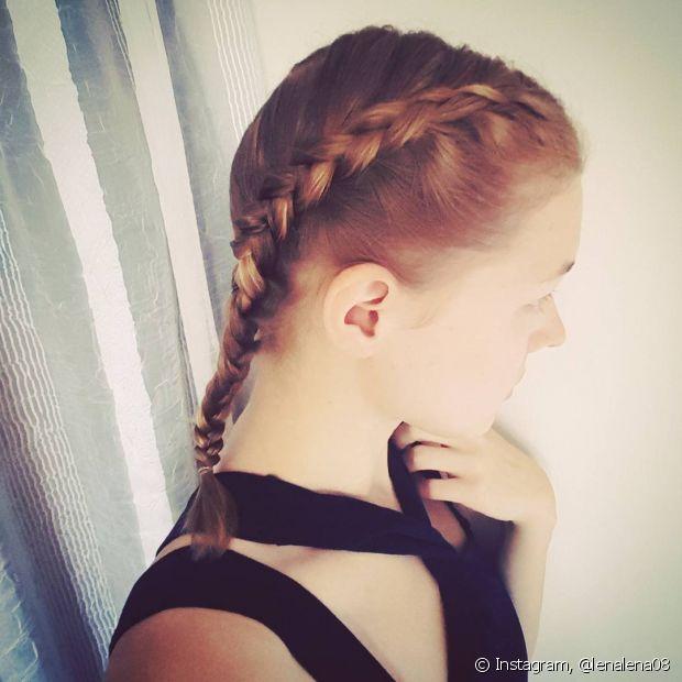 A trança é o penteado favorito das meninas mais românticas