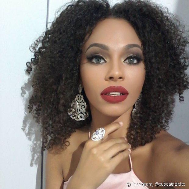 Beatriz Leite, Miss Espírito Santos 2016, tem apenas 18 anos e é bailarina
