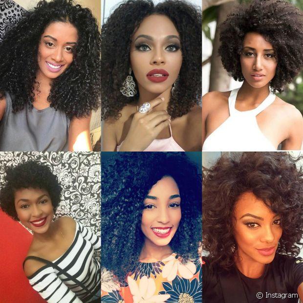 Conheças as seis candidatas cacheadas e negras do Miss Brasil 2016