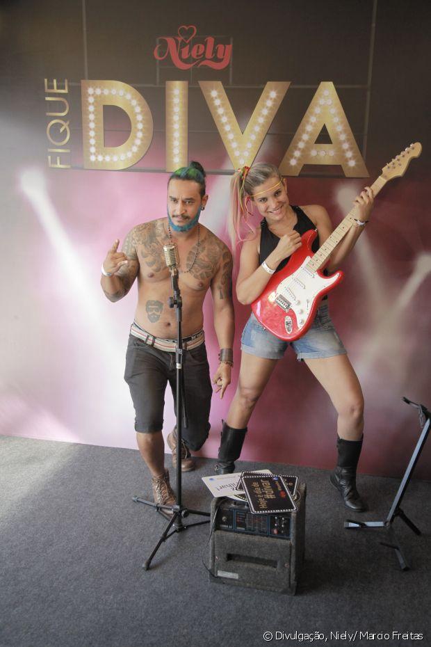Mais de 7 mil pessoas passaram pelo Fique Diva no Rock in Rio 2015 e se divertiram com o espaço do stand