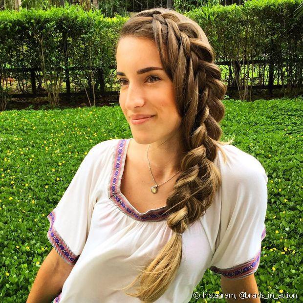 Iris Araújo contou que a ideia para seus penteados vêm na hora que ela vai dormir. Ela consegue elaborar um visual completo!