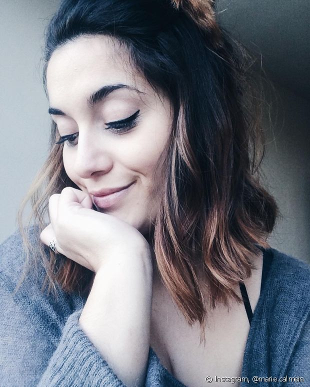 É bem comum pensarmos que o ombré hair é apenas uma exclusividade para as loiras. Que nada! Ele funciona muito bem em quem tem cabelos escuros também