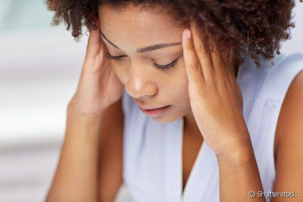 Admita que você está estressada para poder se organizar