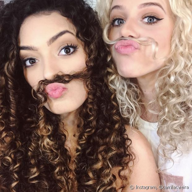 As embaixadoras cacheadas Camila Vieira e Mathira Menezes estarão na Beauty Fair para um bate-papo com o público