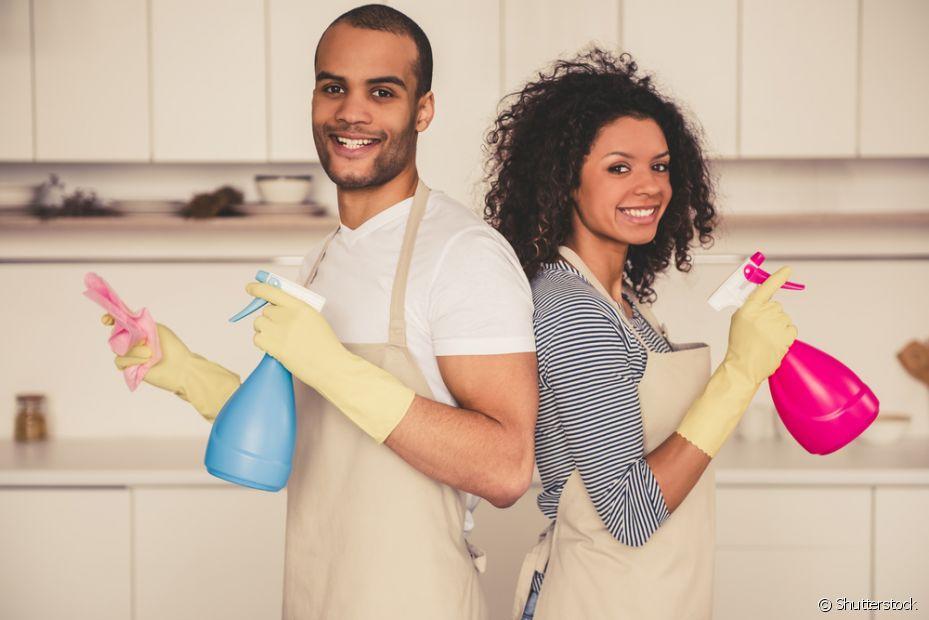 O vinagre e o bicarbonato de sódio são excelentes ingredientes para serem usados nas receitas caseiras