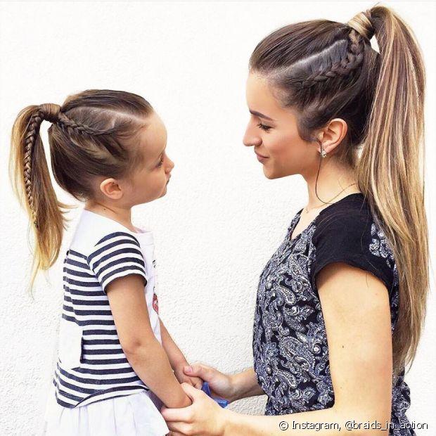 Conversar com sua filha sobre diferentes assuntos é uma maneira de manter o diálogo aberto na família