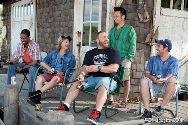 Em 'Gente Grande', Adam Sandler, Chris Rock e companhia protagonizam um reencontro cheio de confusão