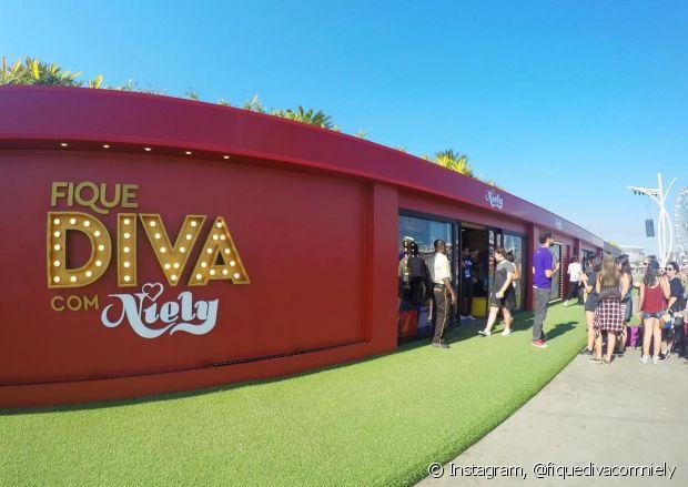 O stand do Fique Diva bombou no primeiro final de semana do Rock in Rio