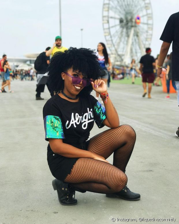 Que tal esse clique da Diva do Black?