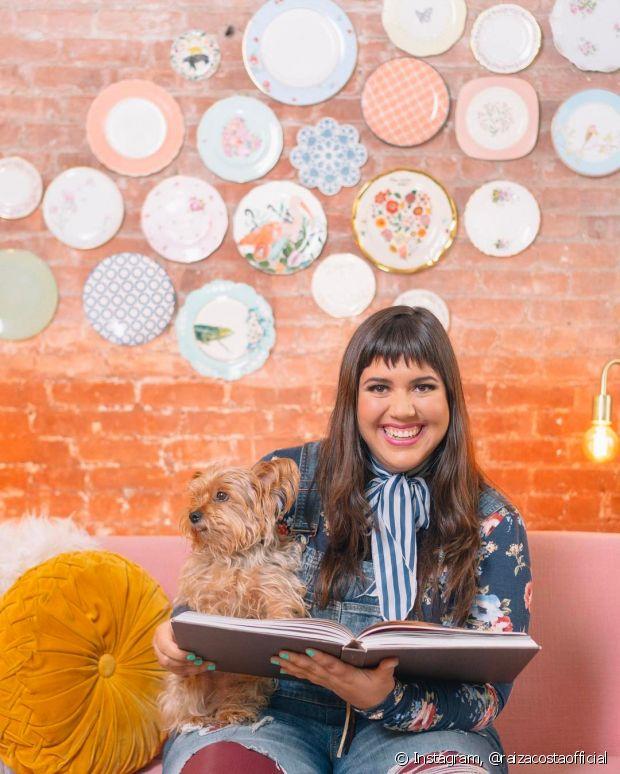 A apresentadora Raíza Costa é doceira de mão cheia e sempre inova em suas receitas