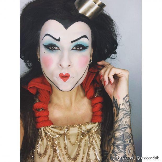 A Rainha de Copas é uma vilã muito divertida para encarnar no Halloween