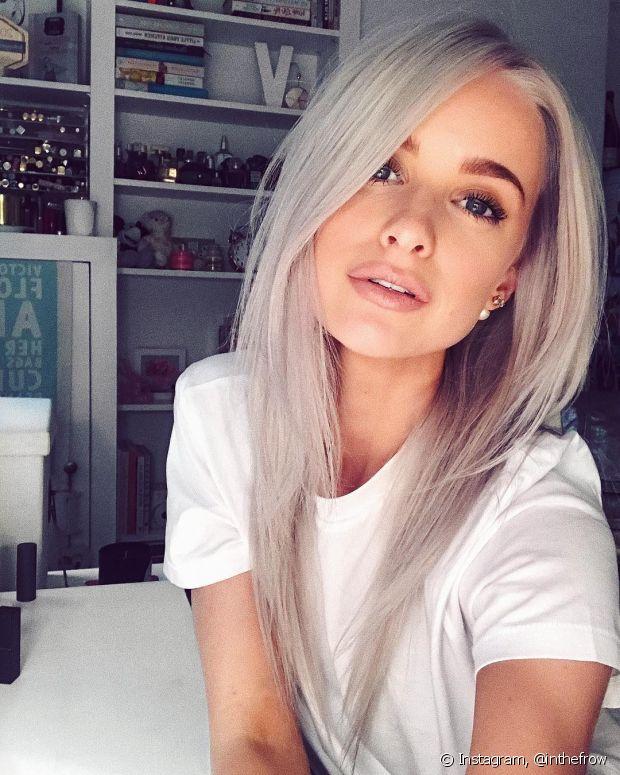 Quem tem cabelos brancos também pode usar o shampoo desamarelador