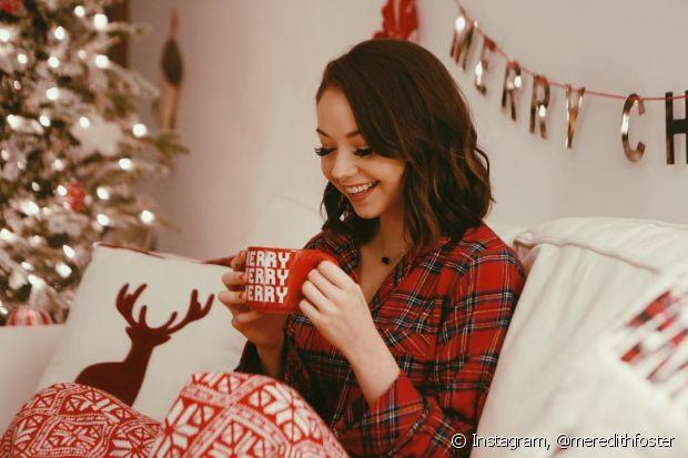 Já pensou na sua maquiagem para usar na noite de Natal em família?