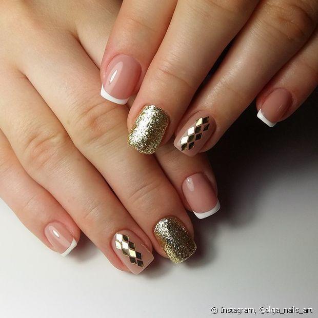 As nail arts podem e devem ser usadas no Réveillon