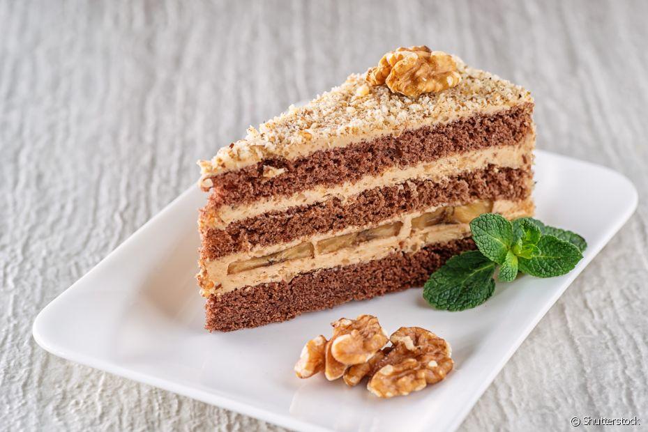 Torta de nozes é uma ótima opção de sobremesa para a noite de Natal