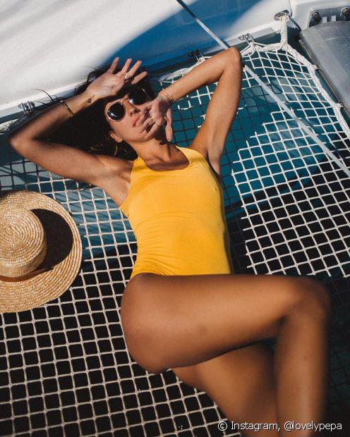 O protetor solar garante que você conquiste a cor dos sonhos