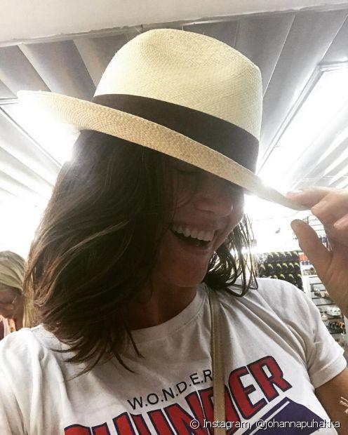 O Panamá é um modelo de chapéu muito elegante e pode ser combinado com qualquer biquíni, maiô ou saída de praia