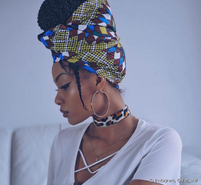 Os turbantes são alternativas maravilhosas para as cacheadas e crespas mudarem o visual