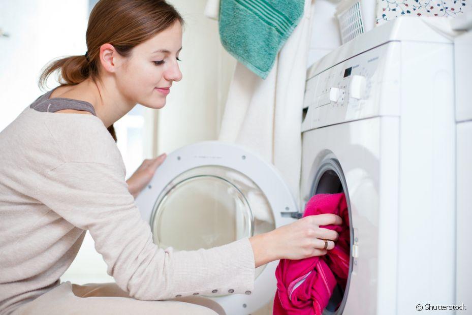 Tire um dia para lavar roupa e limpar a casa