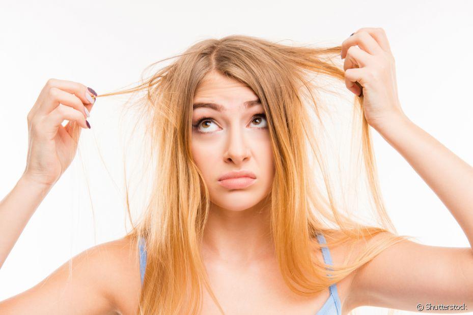 Fique atenta ao usar a chapinha, pois você pode queimar os cabelos