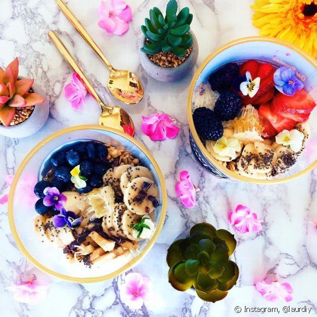 Não esqueça das frutas para deixar o cardápio da festa bem leve, gostoso e saudável