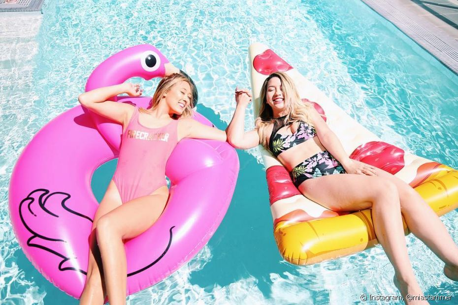 As boias divertidas são perfeitas para deixar a sua pool party bem descontraída