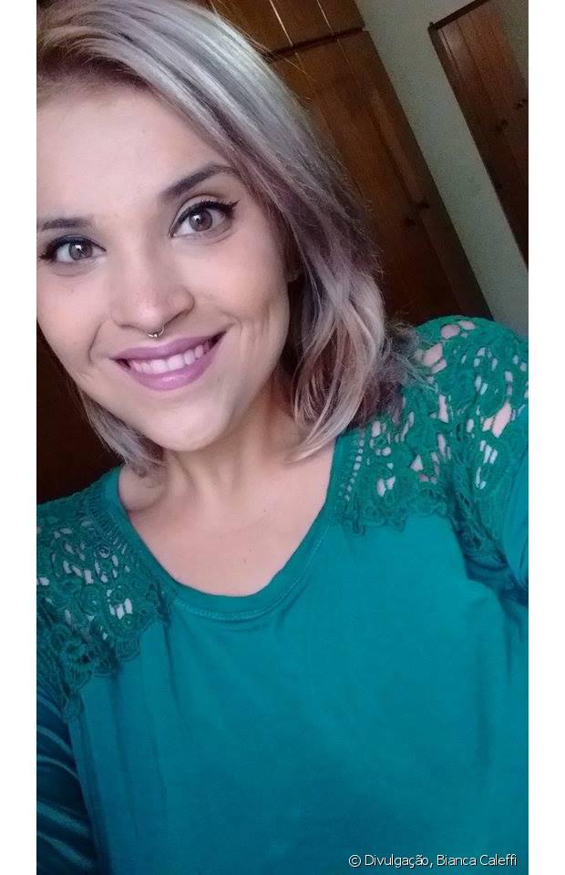 Bianca Caleffi decidiu ter uma rotina mais saudável e emagreceu não só pela aparência, mas para se sentir melhor de uma forma geral