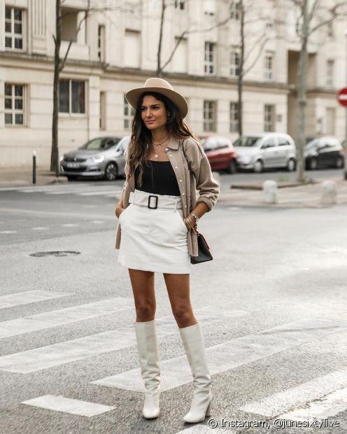 Federica fotografa seus looks pelas ruas de Paris, na França (Instagram: @junesixtyfive)