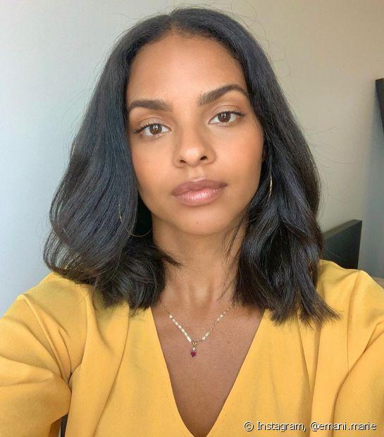 As vitaminas para cabelo podem ser combinadas com outros suplementos capilares em cremes de tratamento (Foto: Instagram @emani.marie)