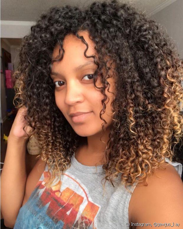 O ombré hair consgeue deixar sua pele com um efeito bronzeado